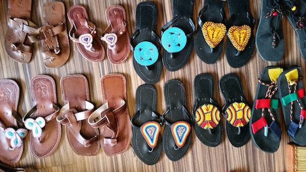 african slippers