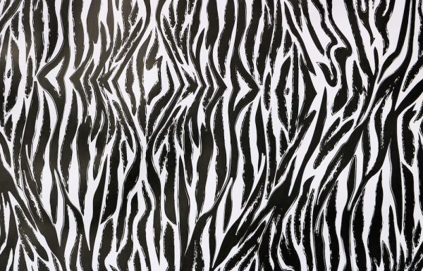 african theming - zebra